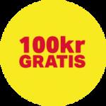 100kr gratis casino